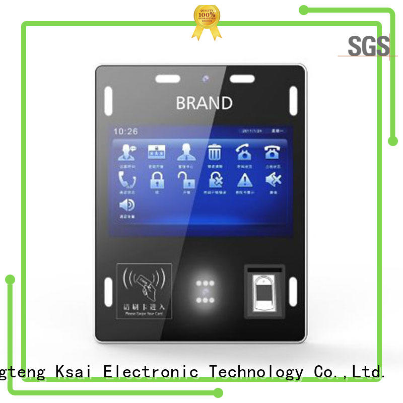 wall mounted kiosk registration supplier for identity verification