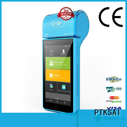 Hot best mobile pos screen PTKSAI Brand