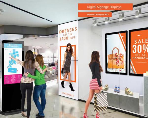 Digital Signage for Advertising