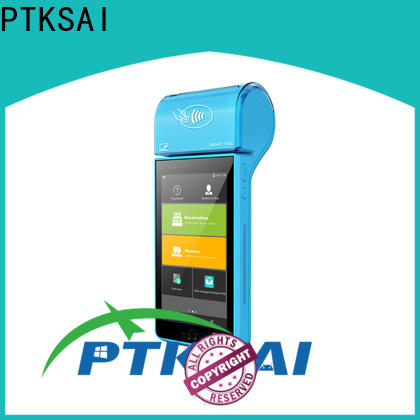 PTKSAI mobile pos for restaurants with customer display for restaurants and bars