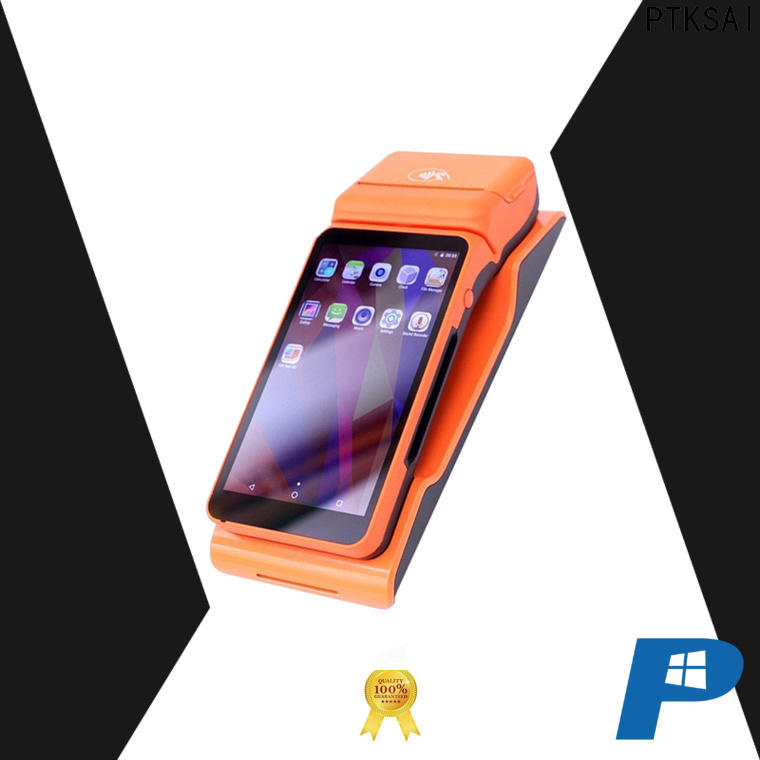 PTKSAI mobile pos machine supply for restaurants and bars