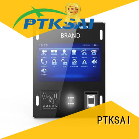 PTKSAI Brand check-in information high-technological visitor registration kiosk face