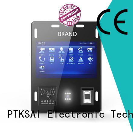 PTKSAI touch screen biometric device with camera for identity verification