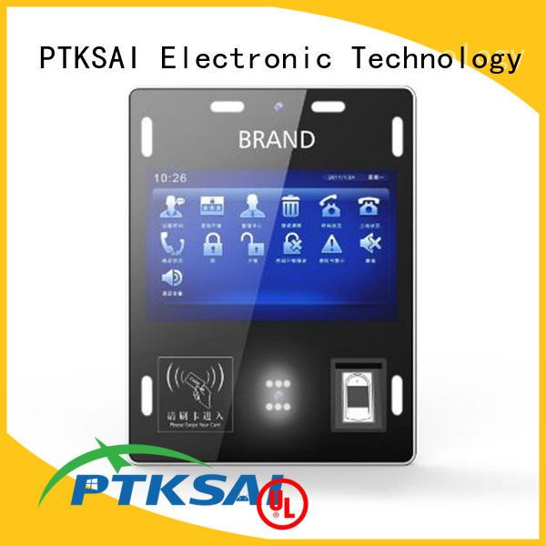 visitor registration kiosk ksg for identity verification PTKSAI