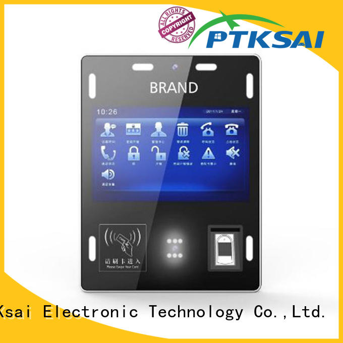 android visitor kiosk with wifi for access control PTKSAI