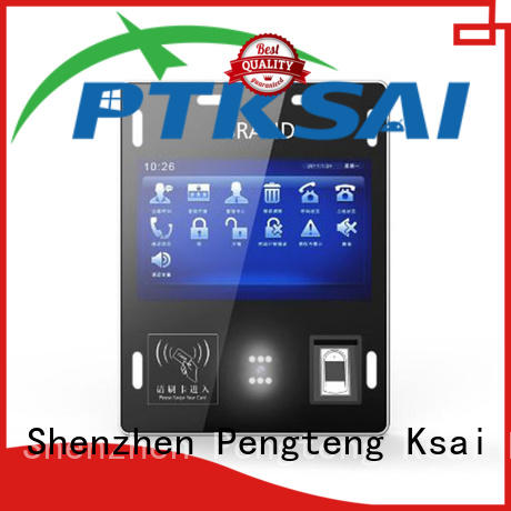 nfc access control card reader with barcode scanner for attendance PTKSAI