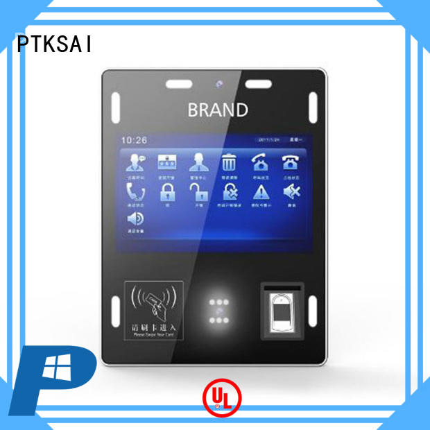 PTKSAI wall mounted facial recognition access control for access control