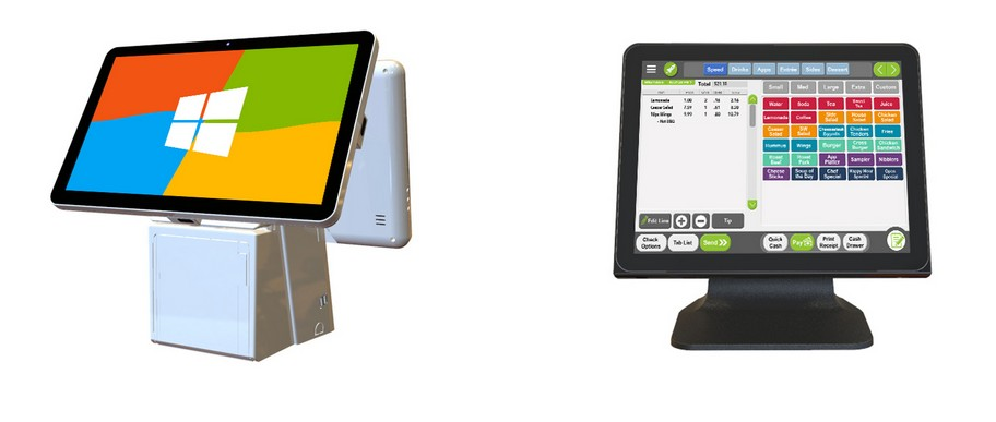 PTKSAI-All In One Pos System Improves Your Business Efficiency