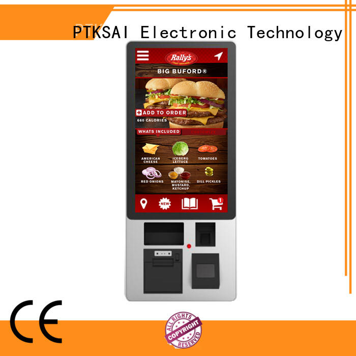 Hot self-service kiosk Tax PTKSAI Brand