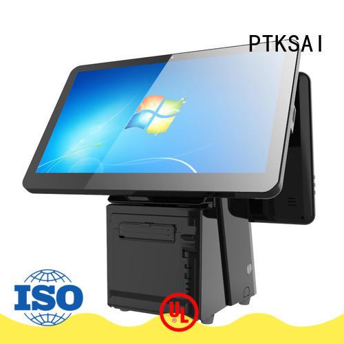 fashion pos cash register with receipt printer for restaurants