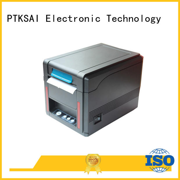 PTKSAI label bluetooth thermal printer port for payment