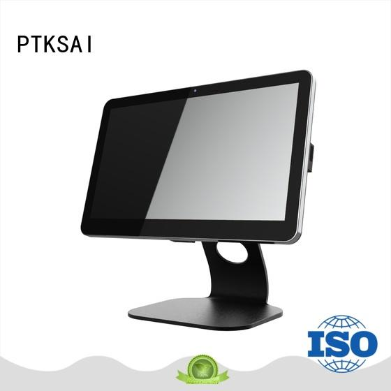 PTKSAI ksf mobile point of sale terminal with customer display for restaurants and bars