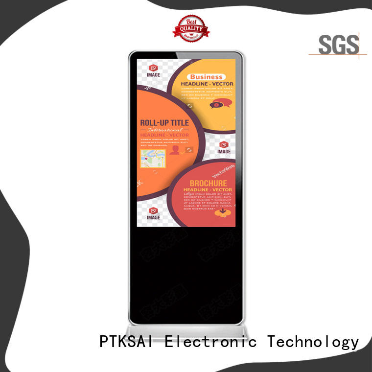 wall mounted digital signages all in one for advertising PTKSAI
