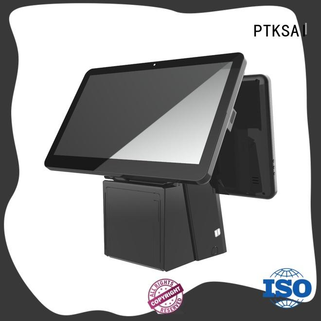 windows restaurant pos systems with auto cutter for sale PTKSAI