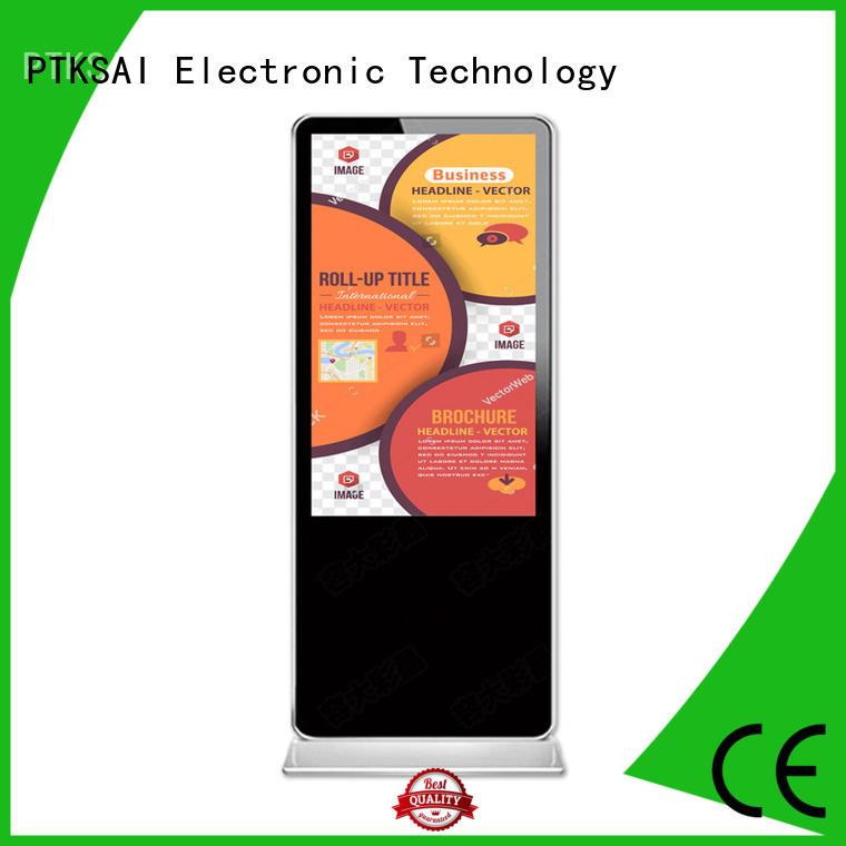 ksts digital signages fhd for self service PTKSAI