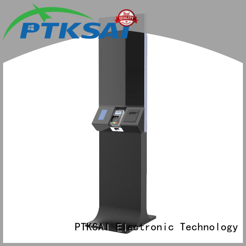 PTKSAI ticketing kiosk manufacturer for payment
