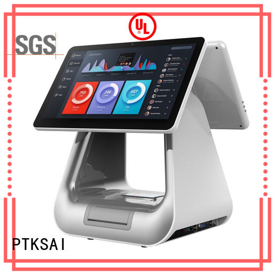 integrated pc pos with thermal printer for restaurants