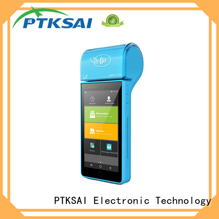 fanless pos devices with smart card reader for restaurants and bars