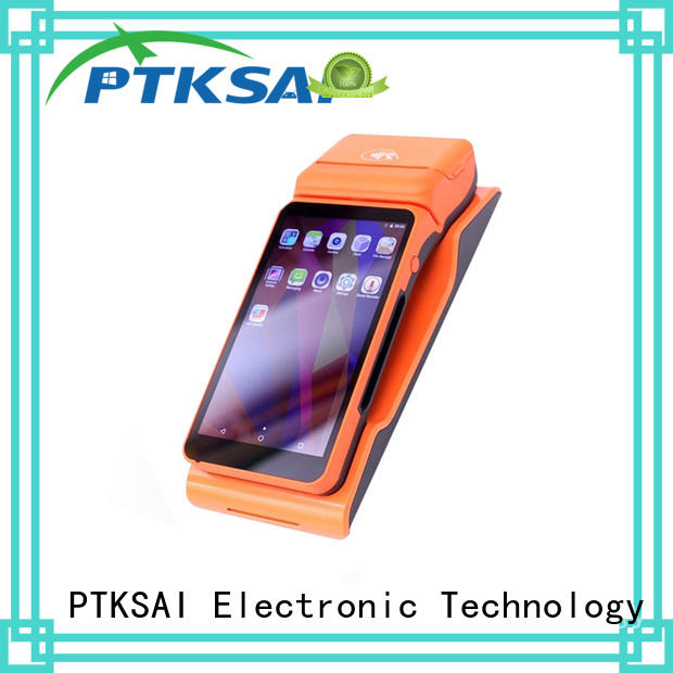 PTKSAI ordering portable pos system with printer for small business