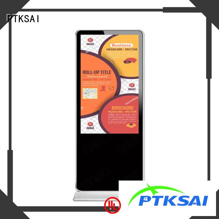 PTKSAI portrait digital signage displays with led panel for advertising