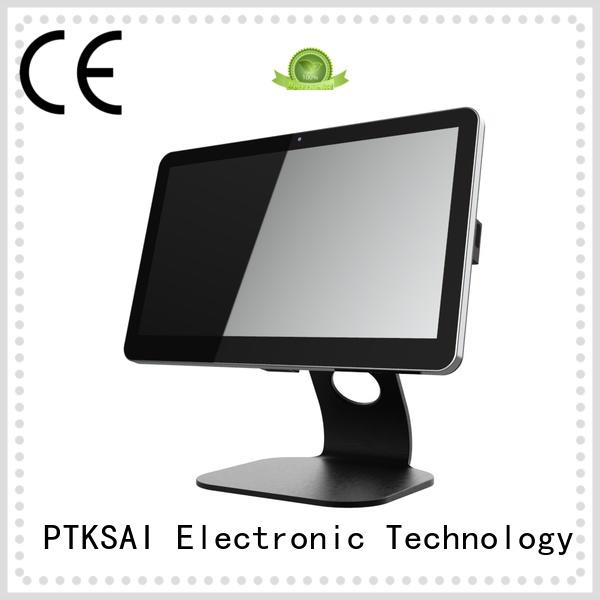 PTKSAI mobile pos terminal with smart card reader for restaurants and bars