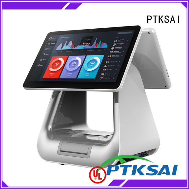 integrated point of sale cash register without auto cutter for payment