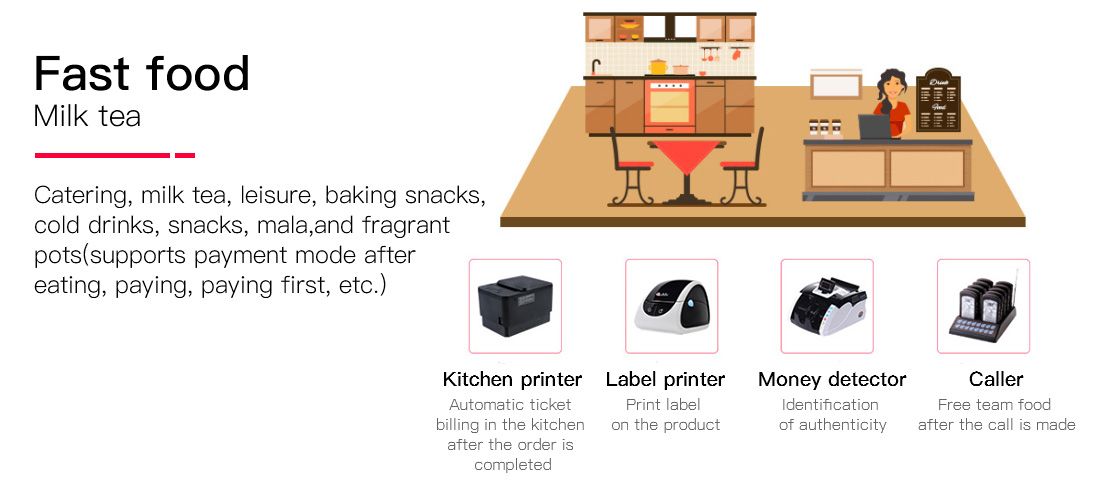 PTKSAI-Pos Cash Register Manufacture | Restaurant And Supermarket Retailing Pos-6