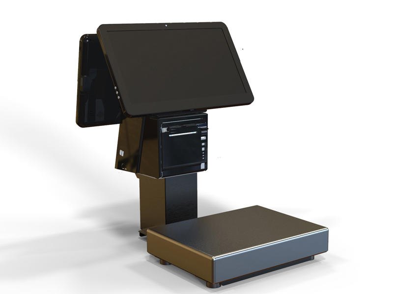 Pos System With Weighing Scale