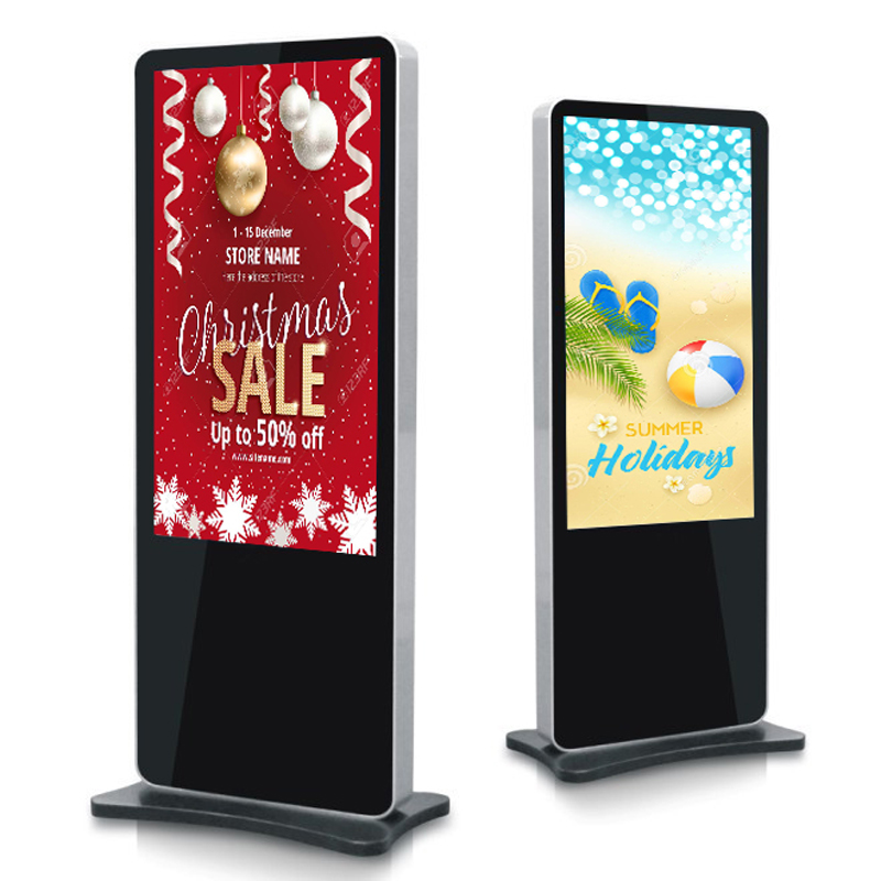 PTKSAI-49, 55, 65 Portrait Orientation FHD LCD Touch Screen Digital Display Signage Interactive Adve-2