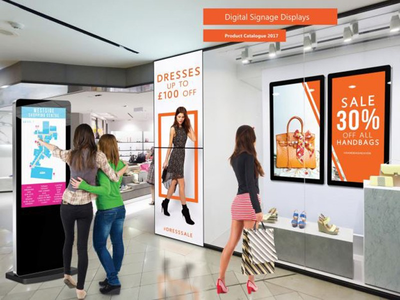 PTKSAI digital signage stand supplier for self service-12