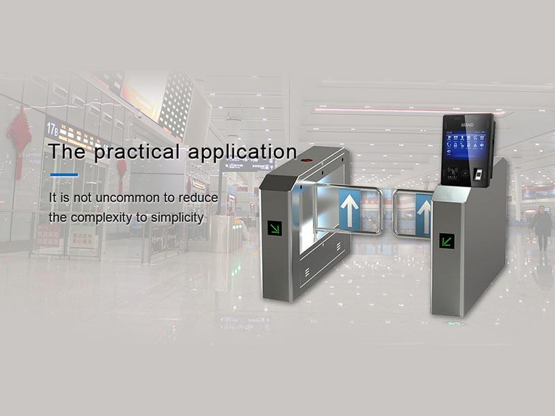 PTKSAI windows face recognition machine with barcode scanner for access control