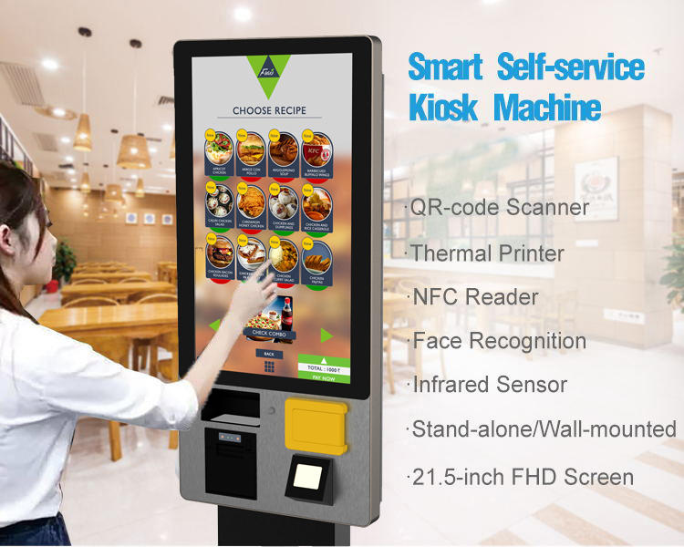 Hot self pay kiosks Banking PTKSAI Brand