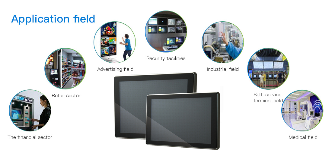 11.6'' or 15.6'' or 21.6'' Wall Mounted Touch Screen LED Panel All In One Tablet PC KS-TS-14