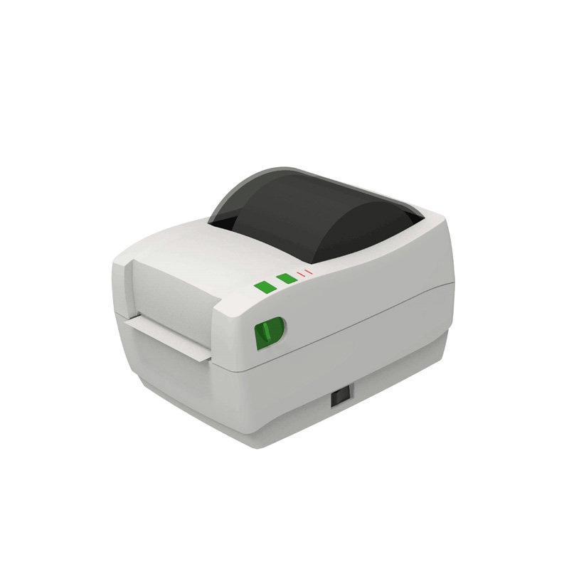 Desktop Thermal Transfer 106mm Barcode Label Printer KS-PR03 RS232C/Parallel/USB/Ethernet Port