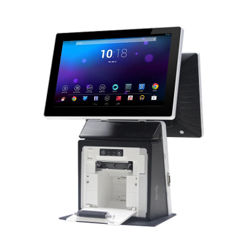 11.6'' Touch Screen Android All In One POS System with 58mm Receipt Printer KS-B