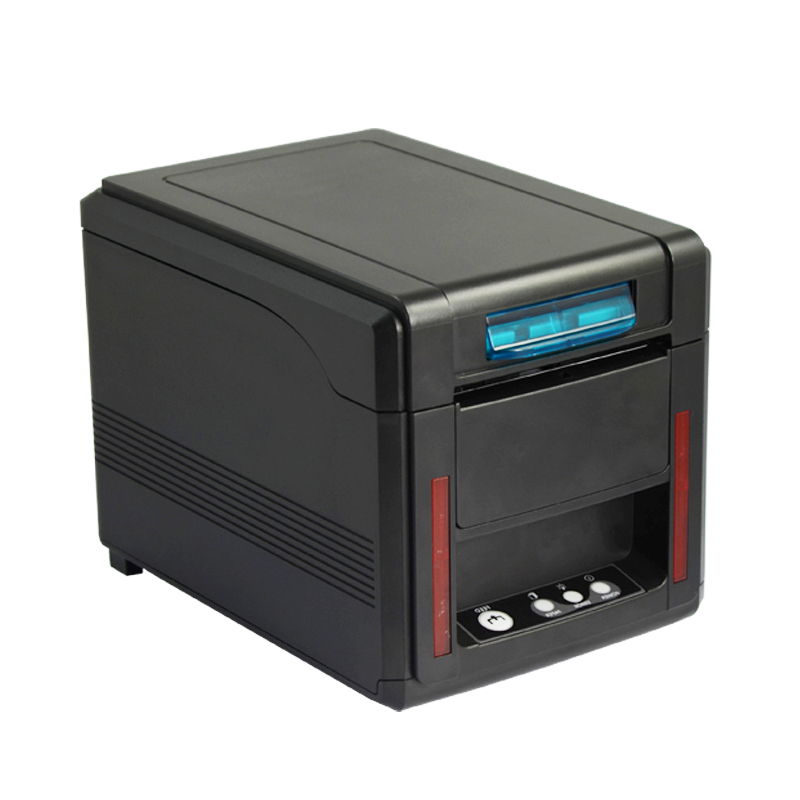 PTKSAI-ESCPOS STAR Character Set Front Loading Direct Thermal 80mm Kitchen Receipt Printer KS-PR01