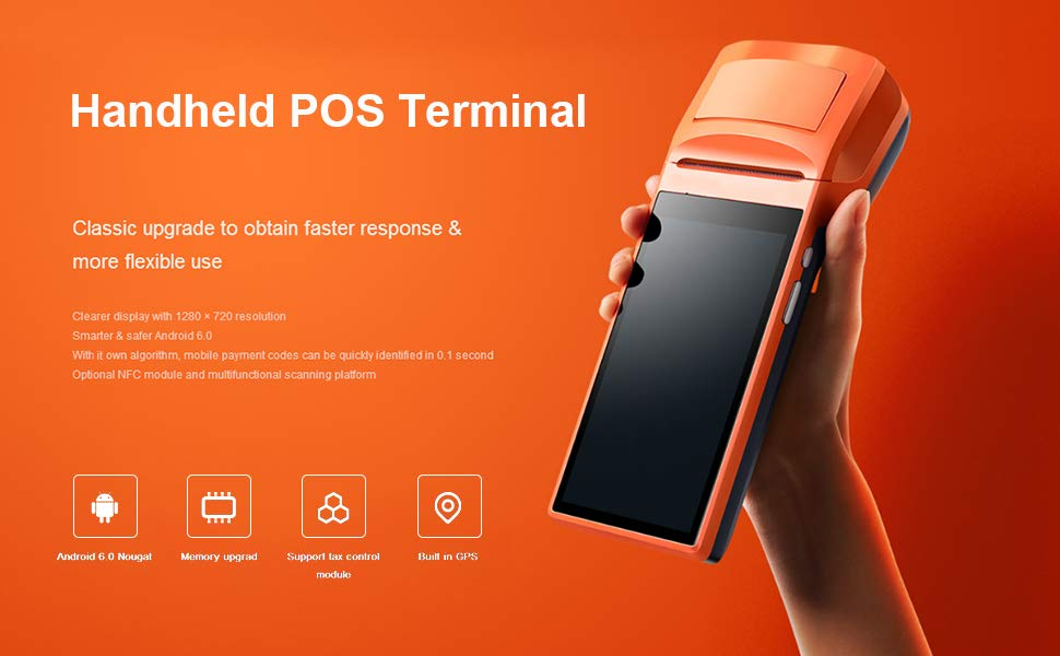 Android POS Terminal Handheld