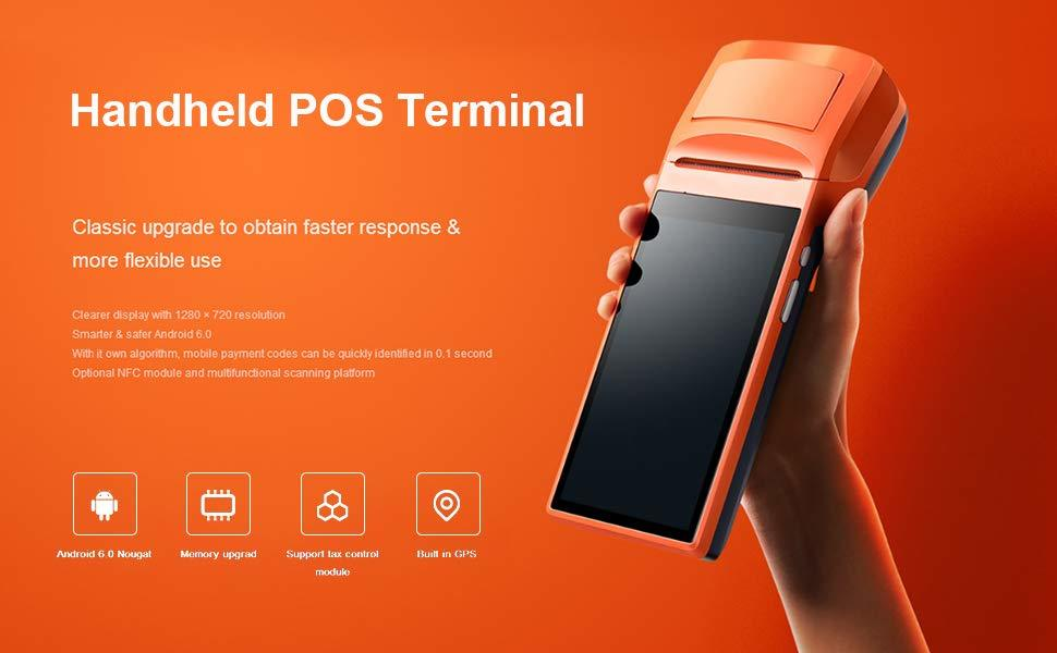 Android POS Terminal Handheld