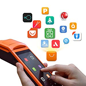 PTKSAI ordering pos devices with printer for restaurants and bars-3