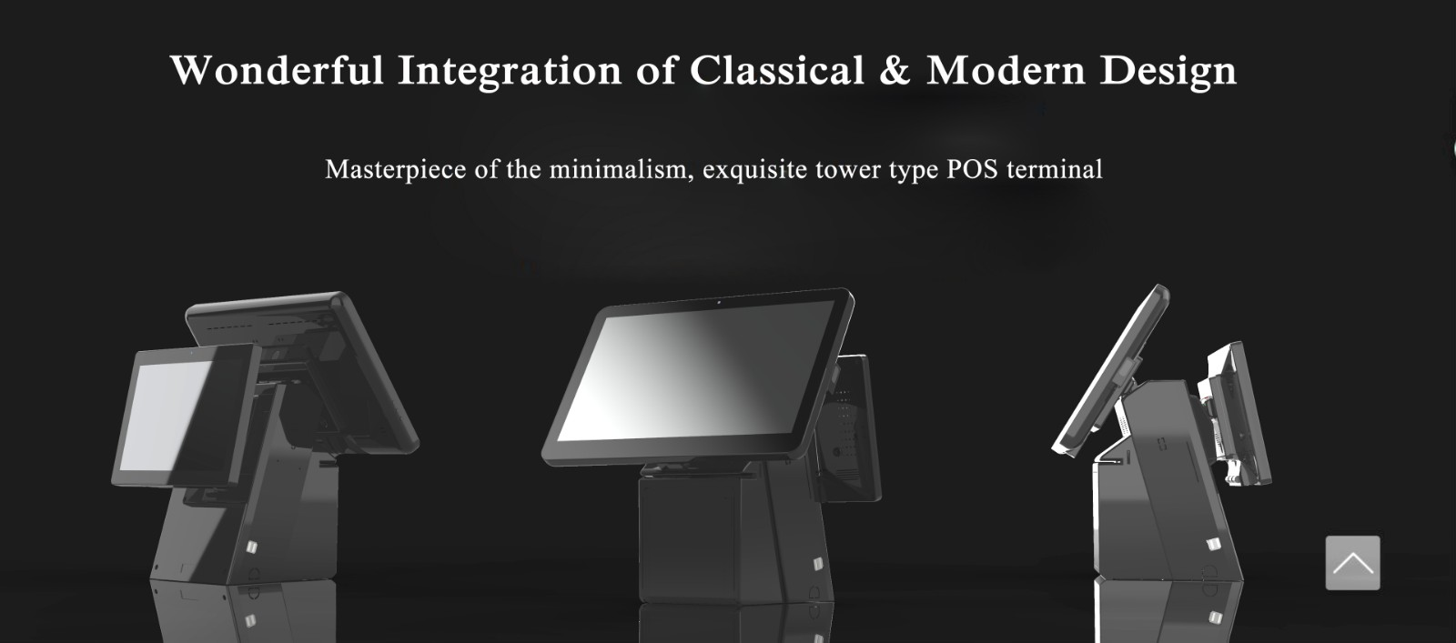 PTKSAI-Windows All in one POS Terminal with Integrated Thermal Printer