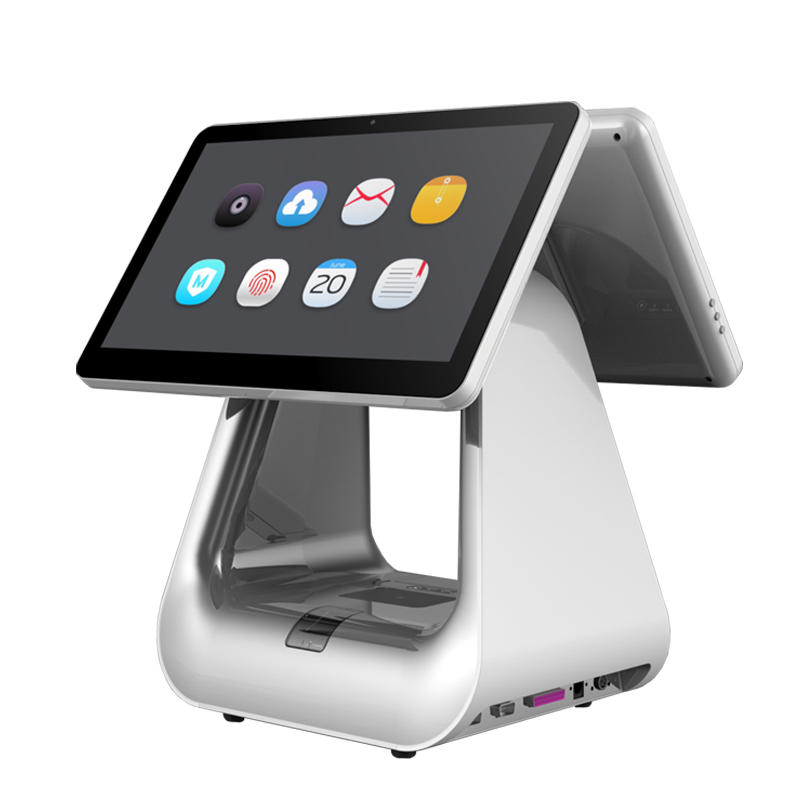 High-end Fashion Hospitality Windows & Android All In One POS System with Thermal Printer KS-D