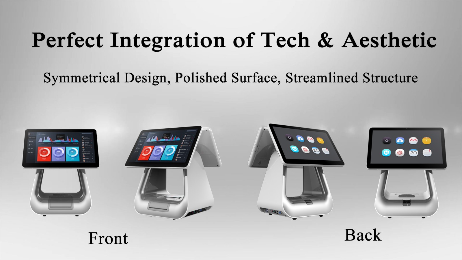 PTKSAI-2019 Flagship Windows POS All In One System for Retail-1