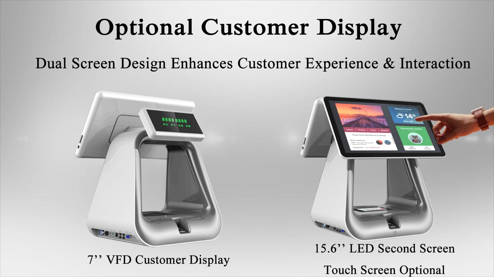 PTKSAI-2019 Flagship Windows POS All In One System for Retail-3