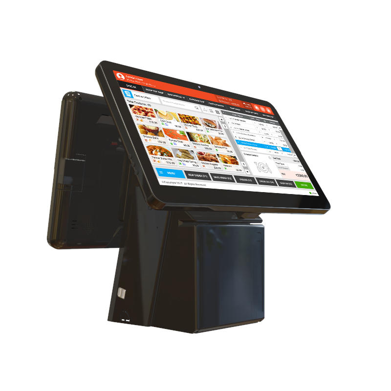 Windows10 15.6'' Touch Screen All In One EPOS System with 80mm Thermal Printer KS-A