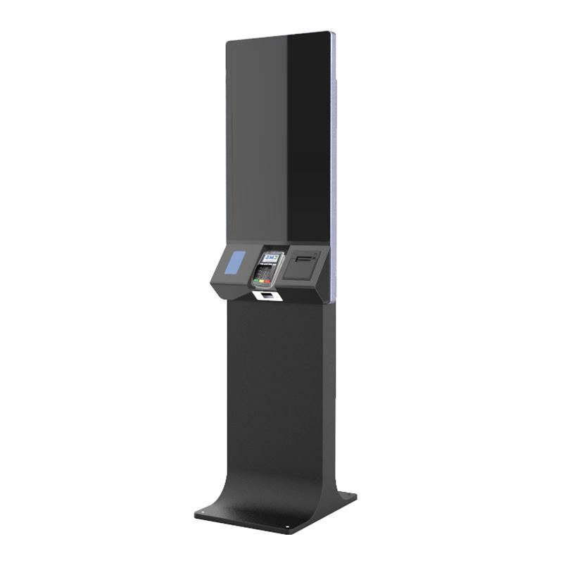 32''/27''/24''/21'' Touch Screen Ordering & Payment Self Service Kiosk KS-SK with Receipt Printer, Barcode Scanner, Fingerprint Reader, Camera