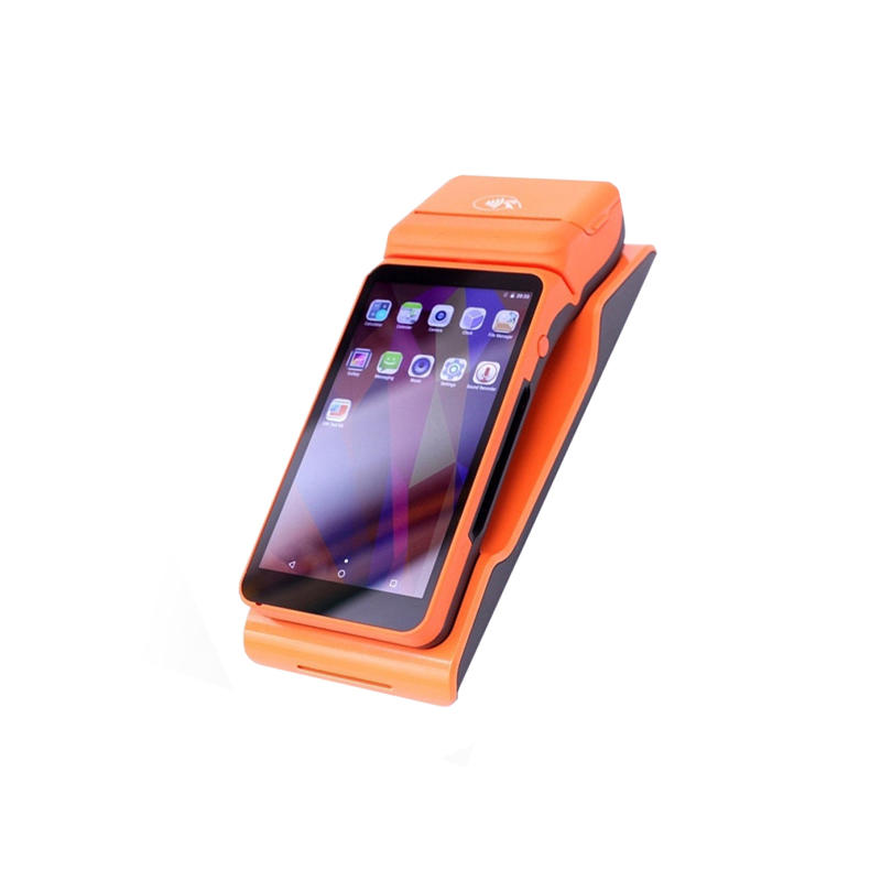 Android 6.0 Restaurant Ordering Payment Touch Mobile POS Terminal with 58mm Printer KS-MB