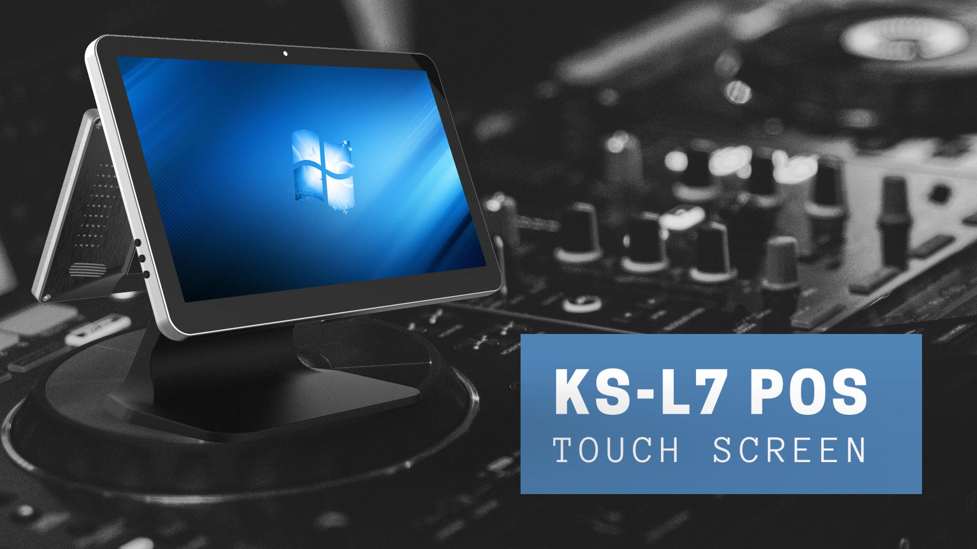 PTKSAI Touch Screen POS Terminal KS-L7 Design