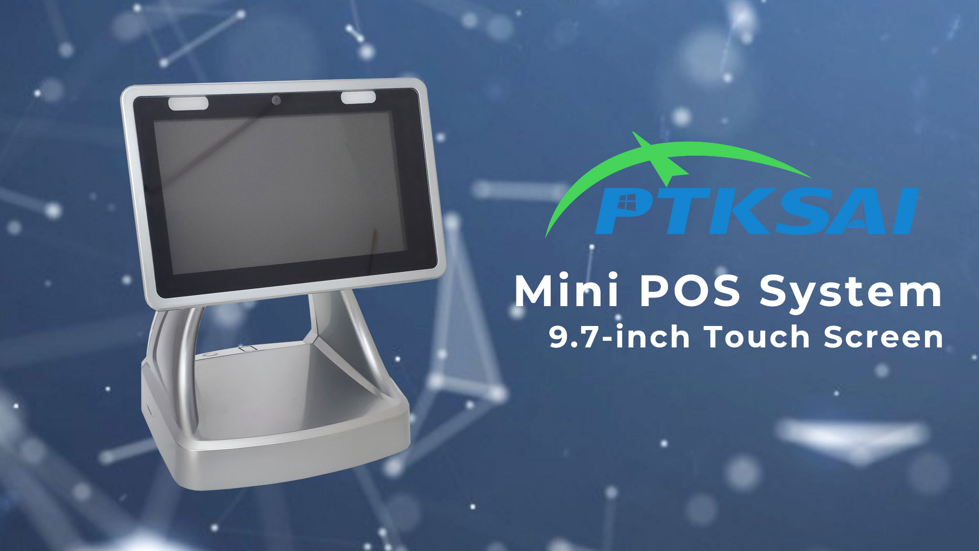 9.7-inch Touch Screen Mini POS System KS-C Design Quick Overview-PTKSAI