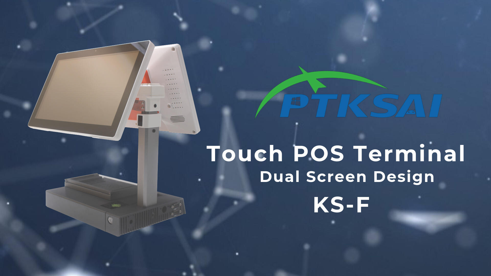 KS-F POS Terminal Operation video