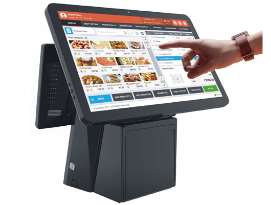 product-PTKSAI-Restaurant Smart Windows Touch Screen POS Machine Retail POS System All in one POS wi